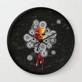 skull flos Wall Clock