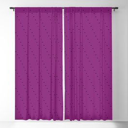 Purple Marching Ants Blackout Curtain