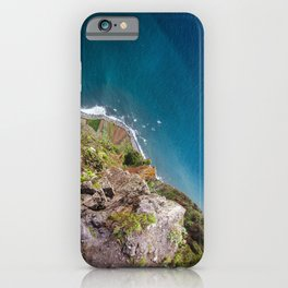 Madeira -view from cliff iPhone Case