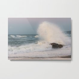 Rough sea Metal Print