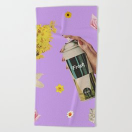 Spring Cleaning Beach Towel