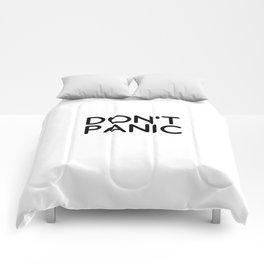 Don't Panic Comforters