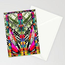 fire pattern Stationery Cards