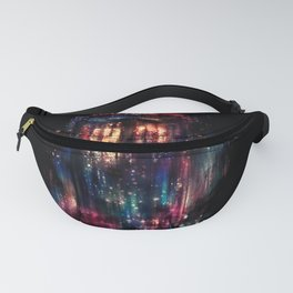 TARDIS Abstract Time Machine Space Travel Fanny Pack