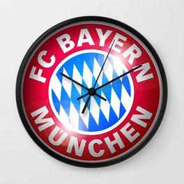 Bayern Munchen Logo Wall Clock