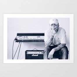 Mac Miller Custom Lyrics Poster, Canvas Print, Home Decor, Gift Poster, Personalised Canvas Art Print