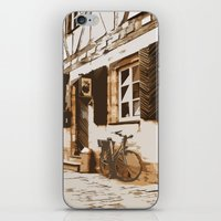 cycling iPhone & iPod Skins featuring Cycling by Karl-Heinz Lüpke