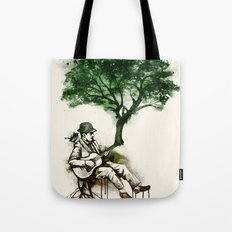 'In the rhythm of nature' Tote Bag