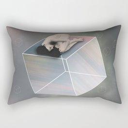 Cube Travel Rectangular Pillow