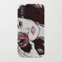 marina iPhone & iPod Cases featuring Marina  by annelise johnson