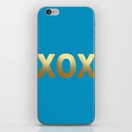Cerulean Blue iPhone Skin