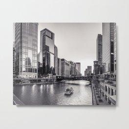 Silver River Metal Print