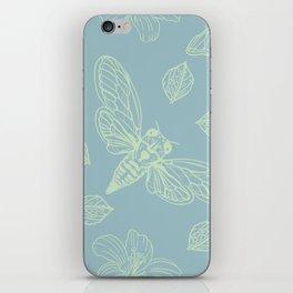 Cicada Moth Pattern iPhone Skin