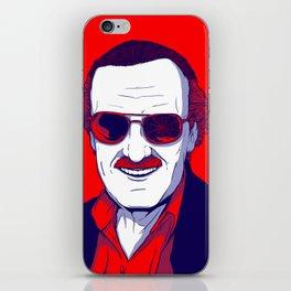 Stan Lee / Excelsior iPhone Skin