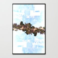Landscapes c8 (35mm Double Exposure) Canvas Print