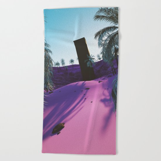 Palm King Beach Towel