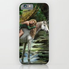 Sleeping Fairy on Unicorn Slim Case iPhone 6s