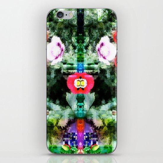 Poppy 2 iPhone & iPod Skin