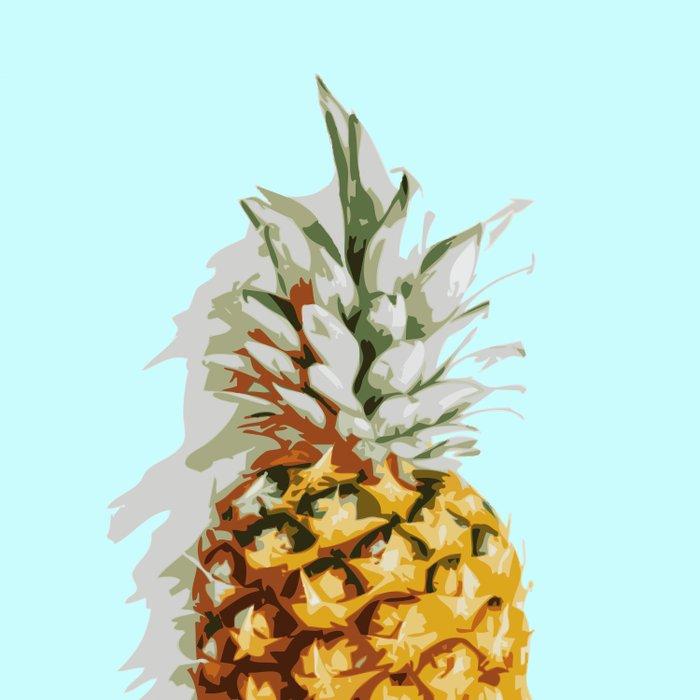 Summer Pineapple Duvet Cover