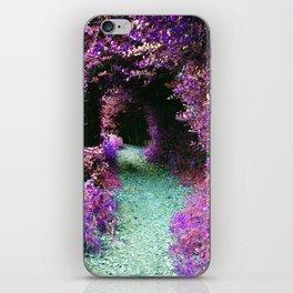 Purple Fantasy Woodland Forest Path iPhone Skin