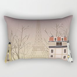 the Parisian way of life Rectangular Pillow