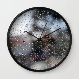 Droplets Wall Clock