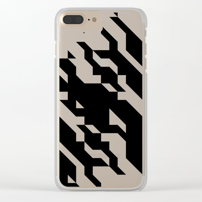 min19 Clear iPhone Case
