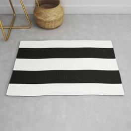Classic Bold Stripes Pattern Rug