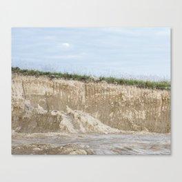 Krater Canvas Print