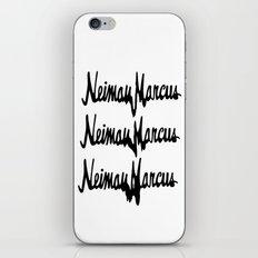 NM Drip (black only) iPhone & iPod Skin
