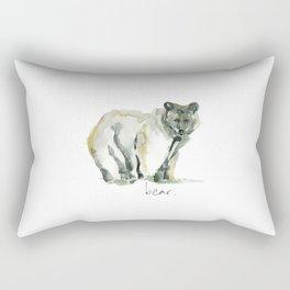 B is for Bear Rectangular Pillow