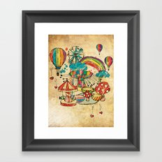 Funfair! Framed Art Print