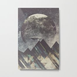 Sweet dreams mountain Metal Print