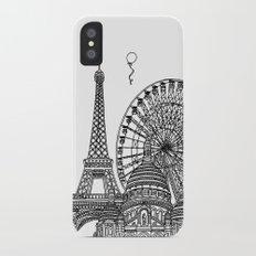 Paris Silhouettes Slim Case iPhone X