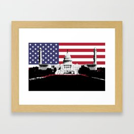 Great Mosque of Capitol Hill Framed Art Print
