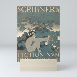 scribners fiction number. august. 1897  Affiche Mini Art Print