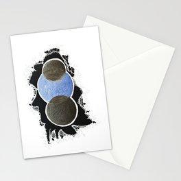 Turf & Azure Stationery Cards