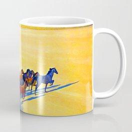 Maynard Dixon Wild Horses Coffee Mug