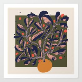 Thriving Tree Art Print