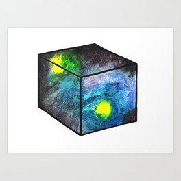 universe in a box Art Print