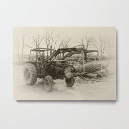 Old Massey 185  Metal Print