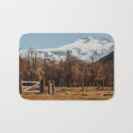 Mountain from the base of the thundering hill Bath Mat