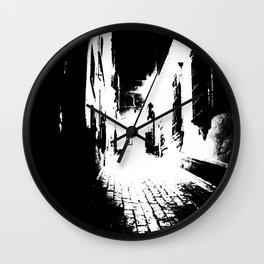 Alley Wall Clock