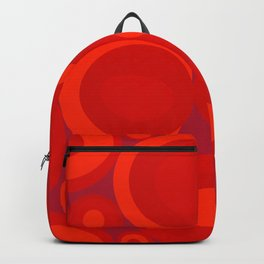 Bubbleroom in red Backpack