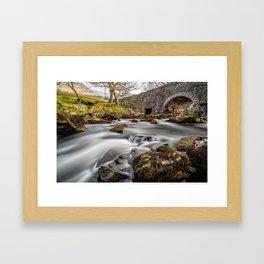 River Ogwen Bridge Framed Art Print