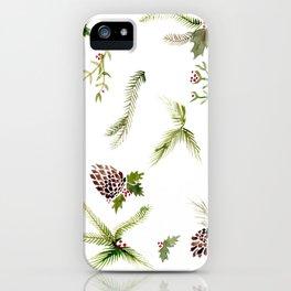 Holiday Plant Extravaganza iPhone Case