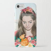 ultraviolence iPhone & iPod Cases featuring daddy's girl by Tiaguh