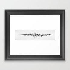 Stereowave (Redux) Framed Art Print