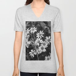 Sad Daisies Unisex V-Neck
