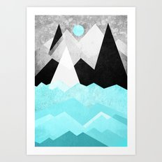 Candyland - Minty fresh Art Print